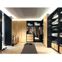Quality China wholesale affordable Italian modern luxury l shape walk-in closet for sale