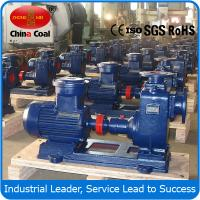 Quality ZX series self-suction centrifugal pump for sale