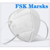 Quality FFP2 FFP3 N95 Respirator Mask Four Layer Non Woven Disposable Mask Non Irritating for sale