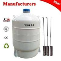 Quality Cryogenic freezer YDS-50L dewar vessel companies in China for sale