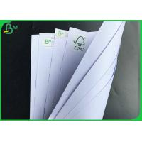 Quality 1000mm 60gsm 70gsm 80gsm FSC Certified White School Book Paper In Reels for sale