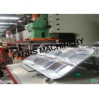 Quality Multiple Cavity Moulds Aluminum Foil Container Machine With Siemens CPU Controller PLC for sale