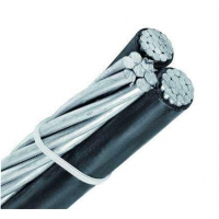 Quality Overhead Electrical Cables PVC XLPE Insulated Aerial Bundle ABC Electric Wire Power Cable for sale