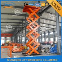 China Low Profile Lift Table Hydraulic Scissor Lift Table / Material Handling Lifts on sale