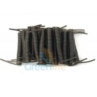 Quality Innovative Stainless Steel Wire Black Stretchy Coil Strap Ready For DIY Assembly for sale