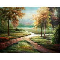 Quality frame painting landscape art painting for sale