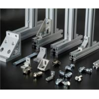 Quality Silvery Anodized extruded aluminium profiles For Production Line for sale