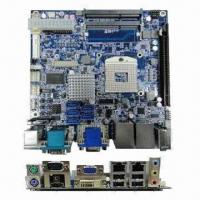 Quality Industrial Motherboard in Mini-ITX Form Factor with Intel Core i7, i5, i3, Celeron Processor and HM5 for sale