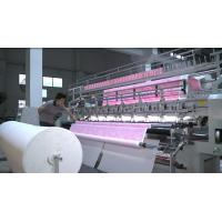 China 110 Inch Lock Stitch Quilting Sewing Machines For Making Bed Sheets And Comforters on sale