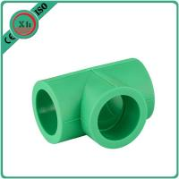 Quality Durable Plastic Pipe Tee Polypropylene Random / Ppr Pipes And Fittings for sale