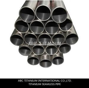 China titanium tube/titanium exhaust pipe/flexible exhaust pipe/heat pipe on sale