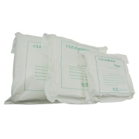 """Quality Ultrasonic Cut Double Knnit Polyester 6""""*6"""" Cleanroom Wipes for sale"""