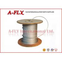 Quality GUSTAV WOLF 8mm Elevator Steel Wire Rope With Fibre Core 8*19S+FC for sale
