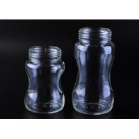 Quality 211ml Capacity glass bottle for baby feeding , Machine made Craft for sale