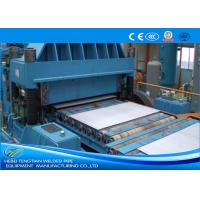 Quality Color Steel Cut To Length Line Machine Blue Colour Full Automatic PLC Control for sale