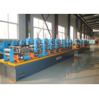 Quality High Frequency Welding ERW Pipe Mill , Carbon Steel Tube Making Machine for sale