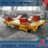 Quality Cable drum power electric transfer bogie Coil handling machine for sale