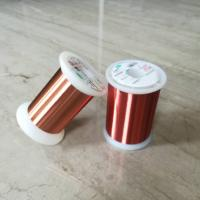 Quality 0.028mm Polyester Enameled Ultra Fine Copper Wire For Transformers / Relays for sale