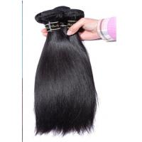 Quality Genuine Virgin Brazilian Hair Extensions Bundles With Silk Straight for sale