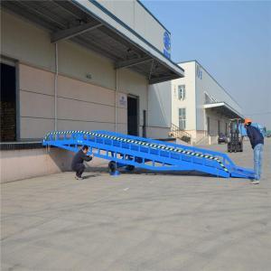Quality Hydraulic Mobile Loading Ramp 8 Ton 10 Ton 12 Ton Steel Loading Dock Ramp for sale