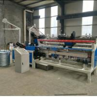 Buy cheap 3m width Fully-Automatic double wire feeding Chain Link Fence  Machine from wholesalers