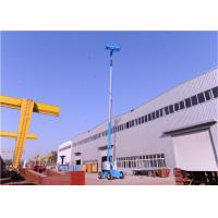 Quality Articulating Small Boom Lift , Upright Boom Lift Tilt Protection Mechanism Multipurpose for sale
