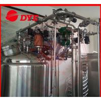 Quality Automatic Stainless Steel Cip Washing System , Beverage Machinery Gas Heating for sale