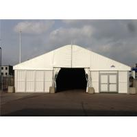 Quality 25m * 40m Big Roof Marquee Tent Clear Span Steel Buildings With ABS Solid Wall System for sale