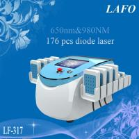 Quality 650&980nm Dual Wavelength Lipo Laser/ Diode Slimming Laser Machine for sale