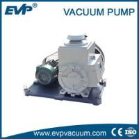 Quality belt driven rotary vacuum pump work as backing pump for vacuum oven for sale