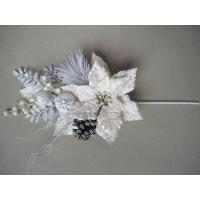 Quality White Bloom  Silk imitationArtificial Decorative Flowers  for gifts for sale