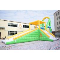 China Customized Inflatable Water Toys, Inflatable Action Tower Wirh Swing on sale