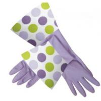 Quality New Leader Strong and Durable Elbow Length Latex Gloves for kitchen for sale
