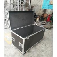Quality Black Aluminum Case Plwyood Durable Heavy Duty Cable Flight Case for Tools for sale