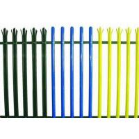 Quality Colorful Triple Pointed Palisade Steel Security Fencing Anti Theft With Low Carbon Steel for sale