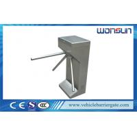 Quality Safety Controlled Access tripod turnstile gate Double Direction 220V 110V for sale