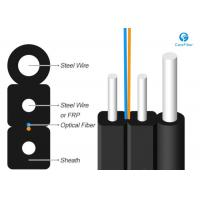 Buy 1 Fiber Singlemode 9/125 OS2, Metal Strength Member, LSZH Self-supporting FTTH Drop Cable GJYXCH at wholesale prices