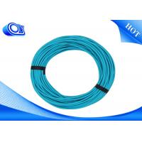 China Multimode Fiber Optic Patch Cord With The 50 / 125um Jumper on sale