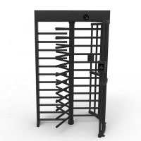 China Single Lane RS485 Full Height Turnstile Gate on sale