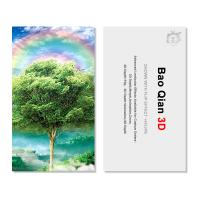 Quality Customized Logo 3D Lenticular Card / Shaped Stand Holographic Business Cards for sale