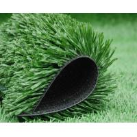 Quality Fire Resistance Artificial Grass Football With PP + Net + SBR Latex Backing for sale