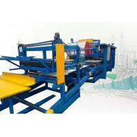 Buy cheap Rock Wool Sandwich Panel Production Line Roll Forming Machine 250mm Thickness from wholesalers