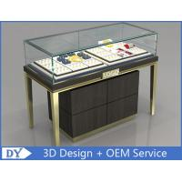 Buy Custom Jewelry Display Cases With Sliding door / Pull Out Door at wholesale prices