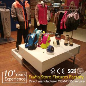 Quality Luxury custom high quality 2015 design clothes display shelf for sale