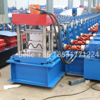 Quality Automatic high speed way guardrail board crash barrier roll forming machine for sale