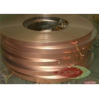 Quality Custom Size ASTM C1100 Thin Copper Foil Roll Hi-Tensile Strength for sale