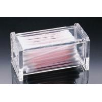 Quality Reasonable Price Acrylic Cotton Swab Box With Customer's Design for sale