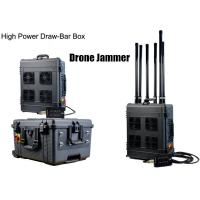 Quality Draw - Bar Box Drone Signal Jammer Portable With 360 Watts , 1000m Jamming Range for sale