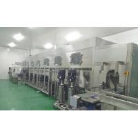Commercial Automatic 12000BPH Stainless Steel 3 Gallon / 5 Gallon Mineral Drinking Water Production Line