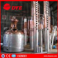 Quality 3000L customised copper steam heating Commercial Distilling Equipment for vodka for sale